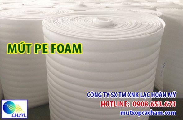 Mút pe foam cuộn ứng dụng bảo vệ hàng hóa